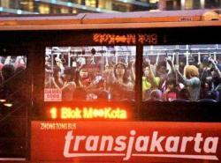 Pelantikan Presiden, Transjakarta Lakukan Rekayasa Rute Tambahan
