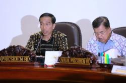 Presiden Joko Widodo dan Wakil Presiden Jusuf Kalla. BORNEONEWS/ISTIMEWA