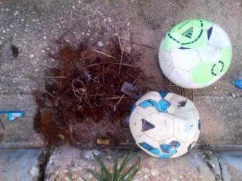 Lapangan Bola Stadion Swakayra Berbahaya