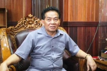 Ketua DPD Gokar Provinsi Kalteng HM Ruslan AS