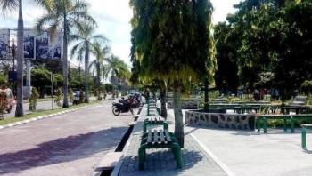 ILUSTRASI: Kawasan Taman Yos Sudarso Kota Palangka Raya. Pemko Palangka Raya menyiapkan Rp3 miliar untuk menangani kawasan kumuh di Kota Cantik. BORNEONEWS/DOK