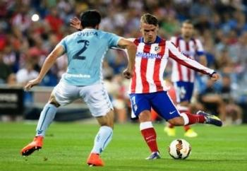 JORNADA KE-23 : Atletico Madrid akan melakoni laga jornada ke-23 La Liga Spanyol dengan menghadapi Eibar di Vicente Calderon, Sabtu (6/2/2016) malam.