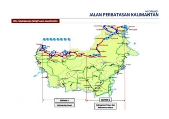 Pembangunan Teras Kalimantan Dilanjutkan