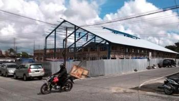 Pembangunan Pasar Baru Ditargetkan Rampung Akhir Februari