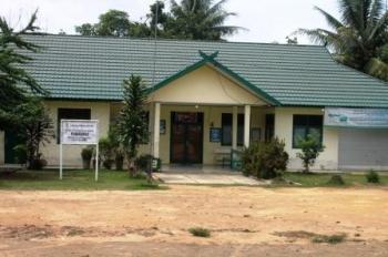BANGUNAN PUSKESMAS : Sebuah bangunan Puskesmas di Bartim. Bupati menilai warga paling tahu kebutuhan pembangunan di wilayahnya.