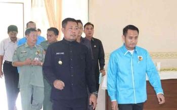 Bupati Kantingan Ahmad Yantenglie. BORNEONEWS/Hairul Saleh