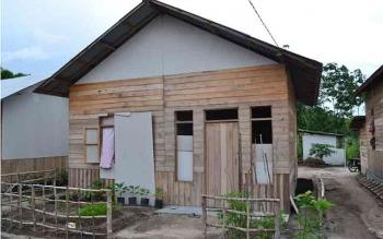 Aset milik eks anggota Gafatar di Kabupaten Sukamara sedang dalam pendataan oleh pihak terkait. BORNEONEWS/FAHRI