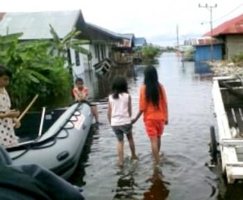 Warga Kota Diimbau Waspada Banjir