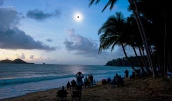 ILUSTRASI: Gerhana matahari total (GMT) merupakan fenomena alam yang terjadi setiap 40 tahun sekali. Kesempatan untuk menyaksikannya secara langsung di Kota Palangka Raya pada tanggal 9 Maret mendatang belum disosialisasikan secara masif oleh Pemkot.