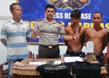 Dua Perampok Keji Ditangkap di Sampit