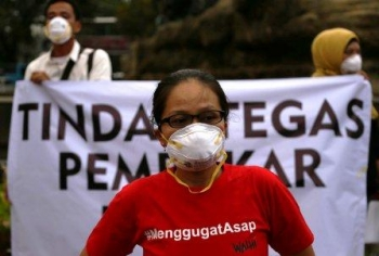 Masyarakat Riau  Gugat Presiden  Terkait Karhutla