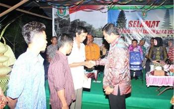 Bupati Yantenglie Safari Dharma Shanti di Marikit