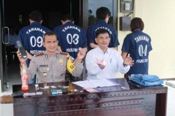Polisi Bekuk Empat Tersangka Narkoba