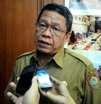 Syahrin Daulay, Penjabat Sekda Kalteng.