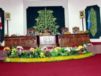 DPRD Pulpis Bahas LKPj Bupati  Tahun Anggaran 2015