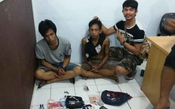 Narkoba Milik Tersangka Satpam RS Citra Husada Dimusnahkan