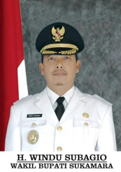 Windu subagio Wakil Bupati Sukamara. BORNEO/ISTIMEWA