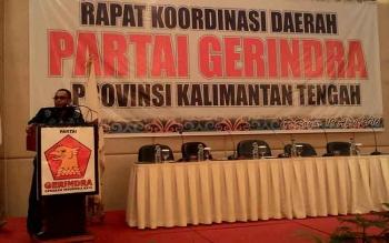 Habib H Said Ismail Hadiri Rakorda Partai Gerindra Kalimantan Tengah
