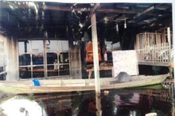 BANJIR : Direndam banjir dua pekan lamanya, mengakibatkan aktivitas warga Desa Juru Banu Kecamatan Paju Epat lumpuh total.