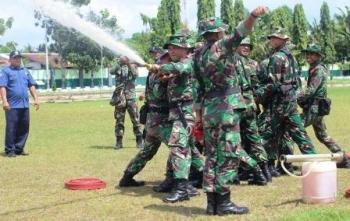 300 Prajurit Korem Disiapkan Tanggulangi Karhutla