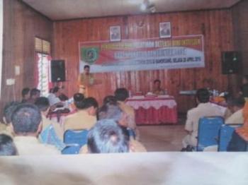 Aparatur Desa Dilatih Deteksi Dini Intelijen