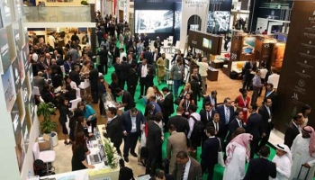 Suasana di Arabian Travel Market (ATM) 2016 Dubai, Uni Emirat Arab. ISTIMEWA