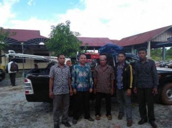 Kelompok Tani Batuah Dapat Bantuan Hand Traktor