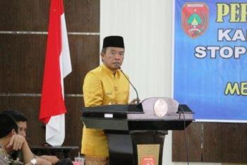 Bupati Kotawaringin Barat Bambang Purwanto. BORNEONEWS/CR-1