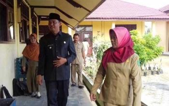 Wakil Bupati Sukamara, Windu Subagio. BORNEONEWS/NORHASANAH