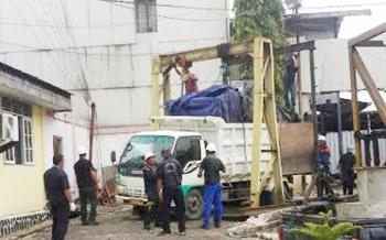 PLN Muara Teweh Lakukan Pemadaman Total Terkait Pemasangan Mesin Pembangkit dari Puruk Cahu