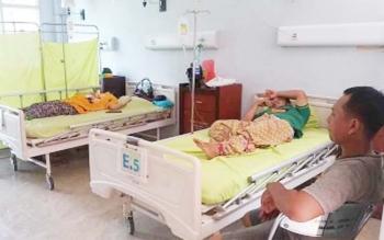 Tujuh orang yang mengalami gejala keracunan, usai makan kue dari Toko Holand Boga sudah mulai membaik. BORNEONEWS/HAMIM