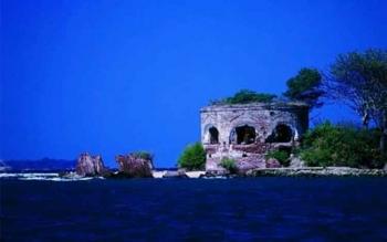 Pulau Onrust di Kepulauan Seribu. ISTIMEWA