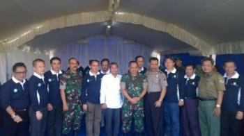 Menko Polhukam rancang penyediaan anggaran penanganan Karhutla bagi TNI-Polri. BORNEONEWS/PARNEN