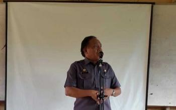 Kepala Dinas Pendidikan Kabupaten Murung Raya, Ingatno. BORNEO/SUPRI ADI