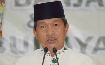 Wali Kota Palangka Raya Riban Satia. BORNEO/DOK