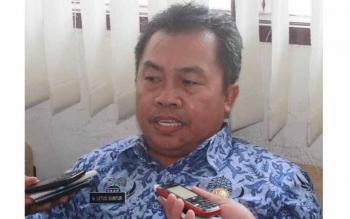 Kepala Distanbun Guunung Mas Letus Guntur. BORNEONEWS/EPRA SENTOSA