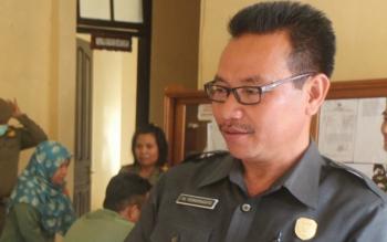Wakil Ketua DPRD Lamandau,. FX. Perwiragato. BORNEO/HENDI NURFALAH