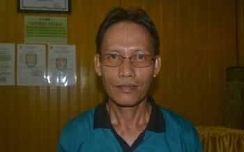 Kepala Dinas Pertanian dan Peternakan Kabupaten Katingan, Hendri Nuhan. BORNEONEWS/ABDUL GOFUR