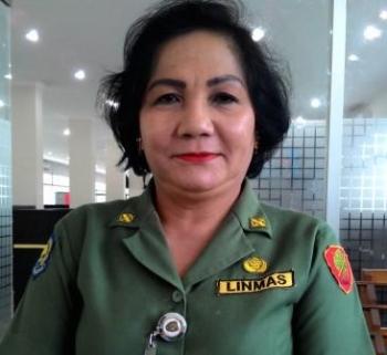 Kepala Biro Humas dan Protokol Sekretaris Daerah Provinsi Kalimantan Tengah, Marianitha. BORNEONEWS/TESTI PRISCILLA