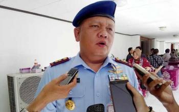 Komandan Lanud Iskandar Pangkalan Bun Letnan Kolonel Ucok Enriko Hutajulu