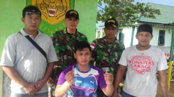 Warga Malaysia ditangkap Karena menjual sabu di perbatasan. (DOK)