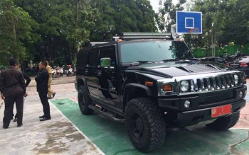 Gubernur Kalteng Gunakan Mobil Pribadi Hummer Untuk Dinas di Kobar