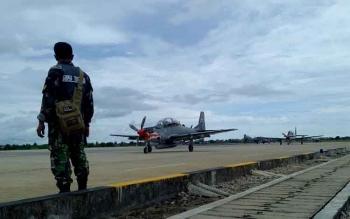 6 Pesawat Super Tucano Batal Lepas Landas