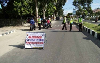 Polres Sukamara Tilang 153 Kendaraan Selama Operasi Patuh Telabang