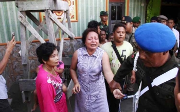 Penertiban Lokasi Prostitusi Simpang Kodok Ricuh