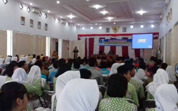 150 Pelajar Ikuti Penyuluhan Dampak Pernikahan Dini