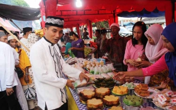 Pemkab Kotawaringin Timur Dorong Sektor Ekonomi Melalui Kuliner Ramadan