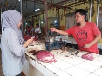 Astaga, Harga Daging Sapi di Palangka Raya Tembus Rp170 Ribu
