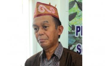 Kepala Dinas Kehutanan Kalimantan Tengah, Sipet Hermanto. BORNEONEWS/TESTI PRISCILLA/DOK