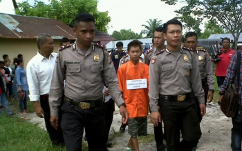 Polisi Gelar Rekonstruksi Kasus Pembunuhan Nasib